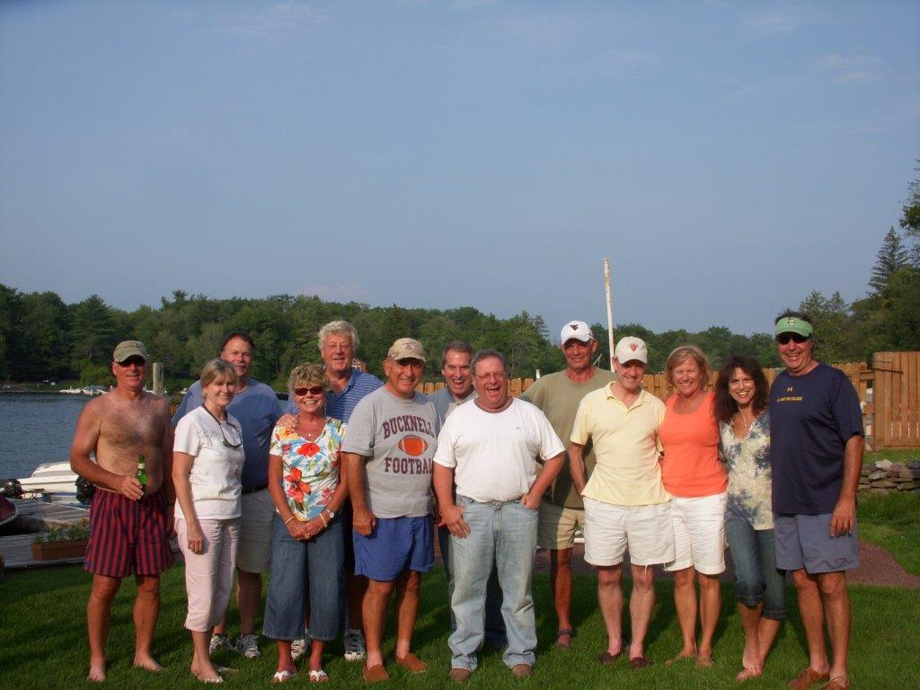 Dick Pace Friends Group Photo Fishing Trip